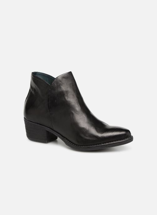 Ankle boots Khrio Polacco 2405 Black detailed view/ Pair view