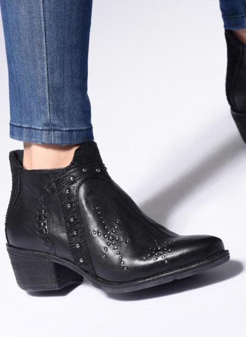 Stiefeletten & Boots Khrio Polaco 2401 schwarz ansicht von unten / tasche getragen