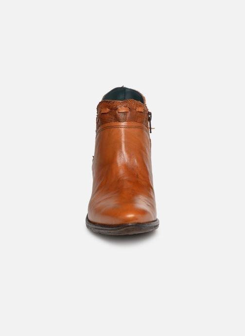 Ankle boots Khrio Polaco 2402 Brown model view