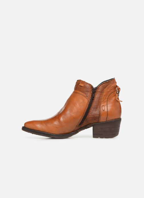 Ankle boots Khrio Polaco 2402 Brown front view