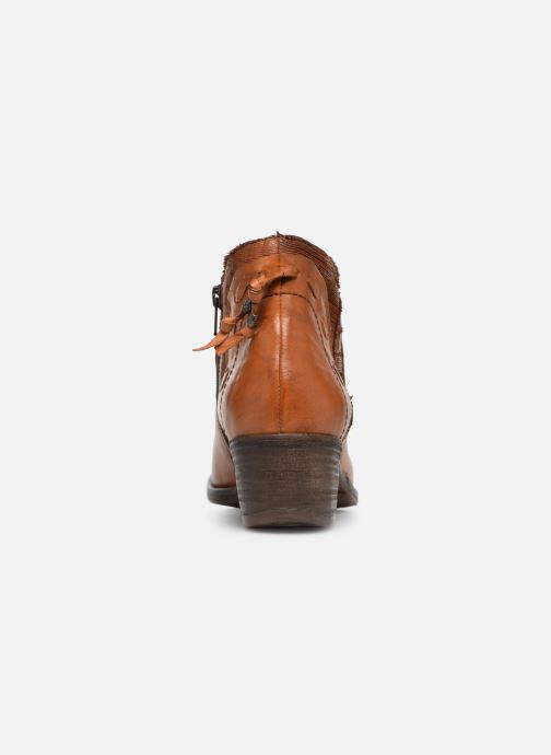 Ankle boots Khrio Polaco 2402 Brown view from the right
