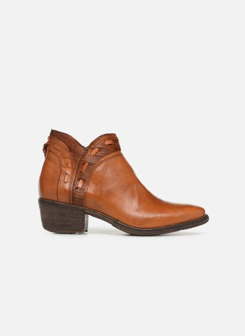 Ankle boots Khrio Polaco 2402 Brown back view