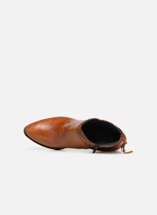 Ankle boots Khrio Polaco 2402 Brown view from the left