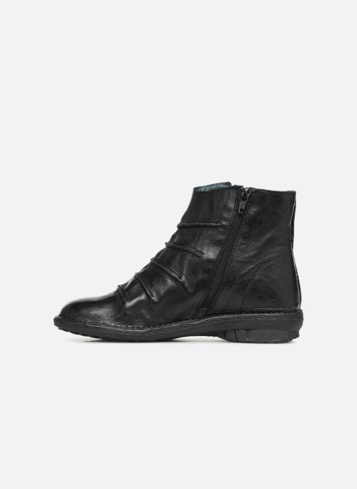 Bottines et boots Khrio POLACCO DONNA Noir vue face