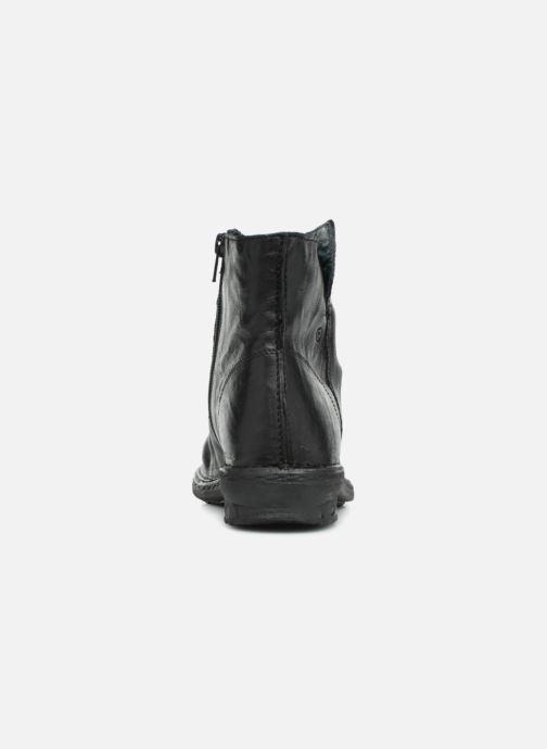 Bottines et boots Khrio POLACCO DONNA Noir vue droite