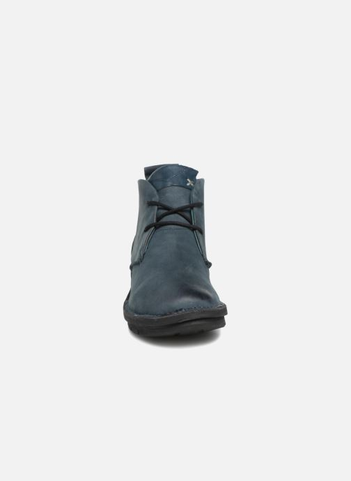 Ankle boots Khrio Polacco Blue model view