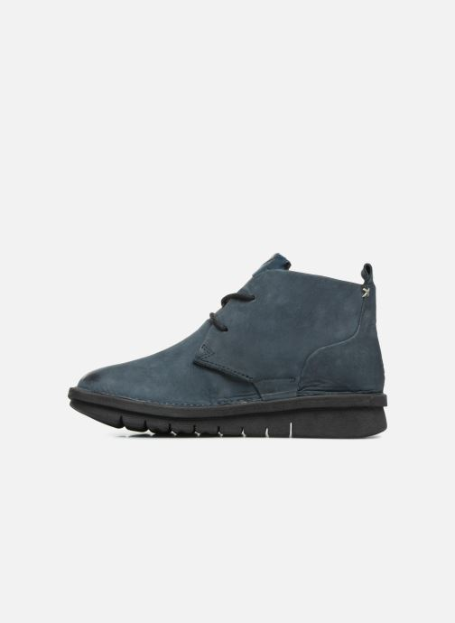 Ankle boots Khrio Polacco Blue front view