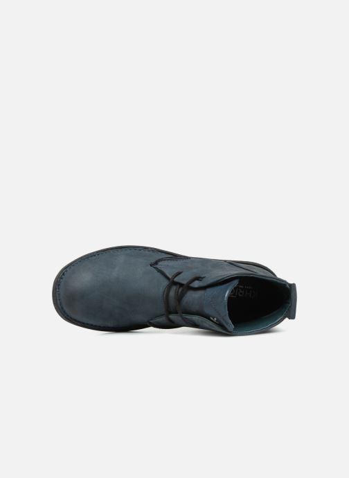 Bottines et boots Khrio Polacco Bleu vue gauche