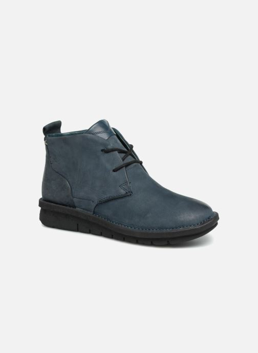 Ankle boots Khrio Polacco Blue detailed view/ Pair view