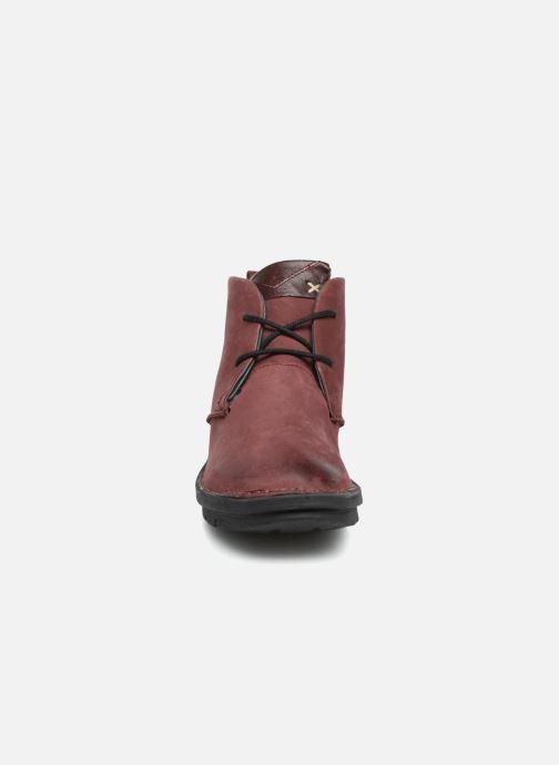 Bottines et boots Khrio Polacco Rouge vue portées chaussures