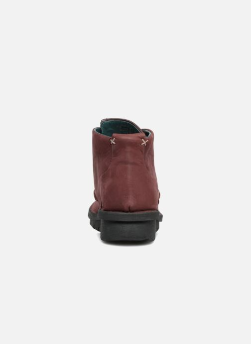 Bottines et boots Khrio Polacco Rouge vue droite