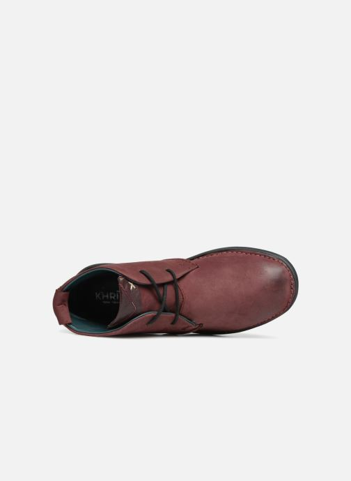 Bottines et boots Khrio Polacco Rouge vue gauche