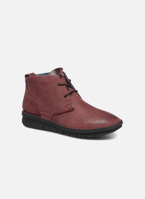 Bottines et boots Khrio Polacco Rouge vue détail/paire