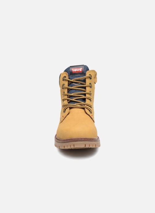 Bottines et boots Levi's Forest Jaune vue portées chaussures