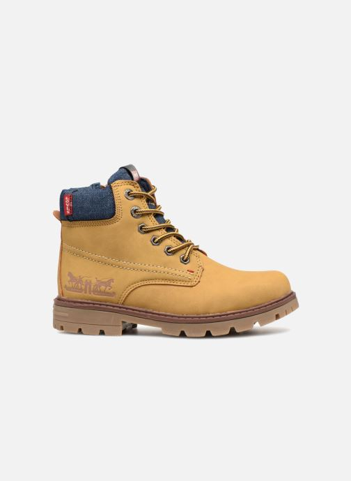 Bottines et boots Levi's Forest Jaune vue derrière