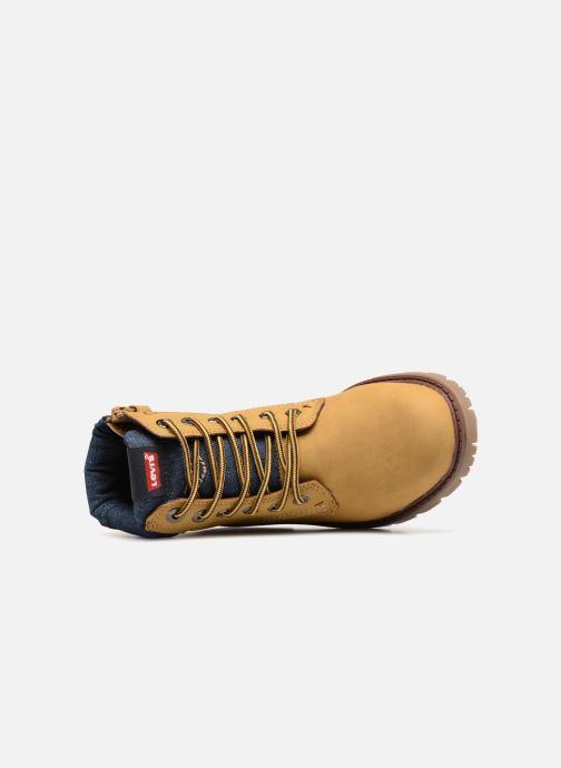 Bottines et boots Levi's Forest Jaune vue gauche