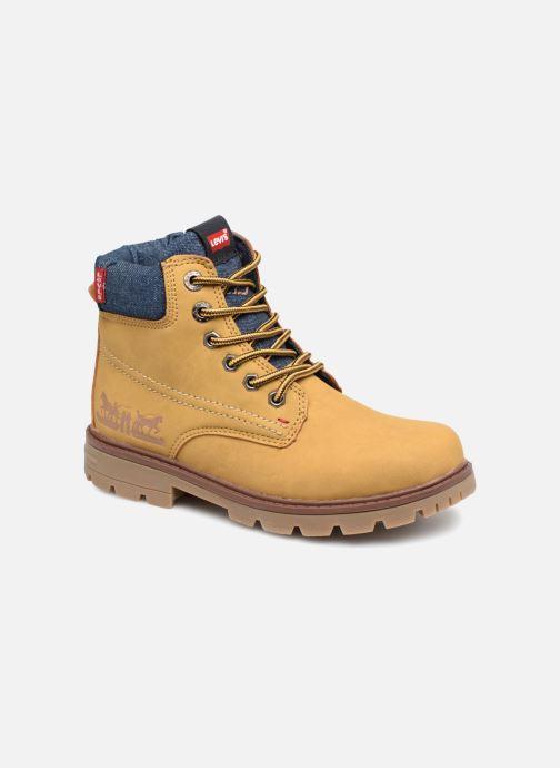 Bottines et boots Levi's Forest Jaune vue détail/paire