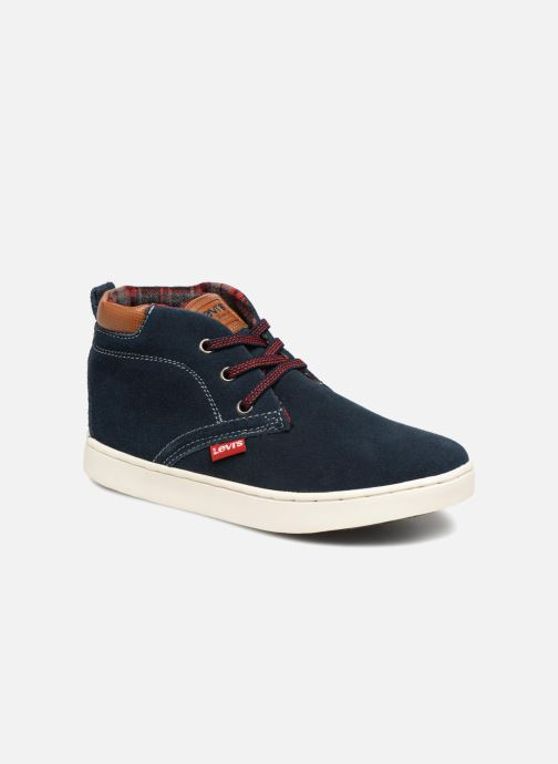 Baskets Levi's Cambridge Bleu vue détail/paire