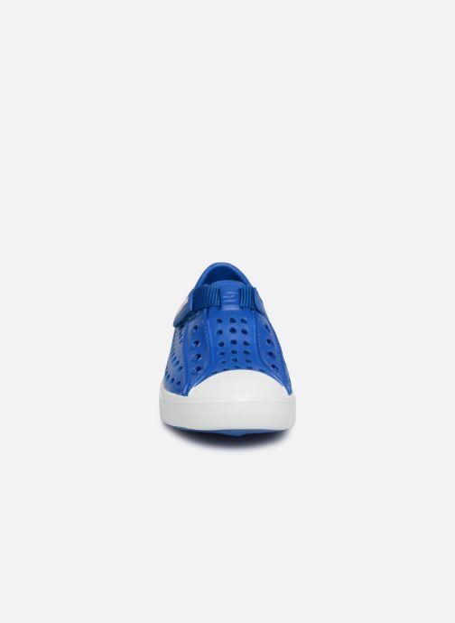 Baskets Skechers GuzmanSeeperz Bleu vue portées chaussures
