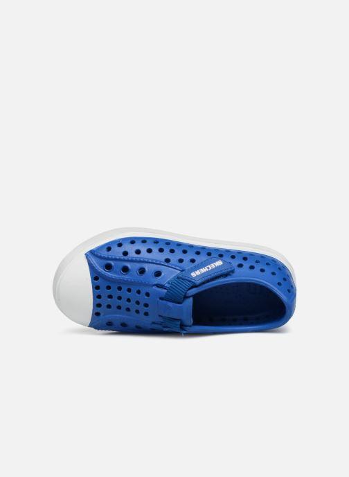 Baskets Skechers GuzmanSeeperz Bleu vue gauche