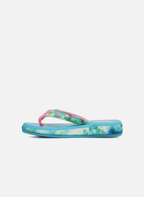 Flip flops Skechers Sunshines/ Hippie skippie J Blue front view