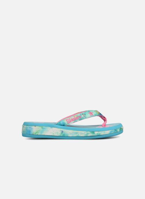 Flip flops Skechers Sunshines/ Hippie skippie J Blue back view