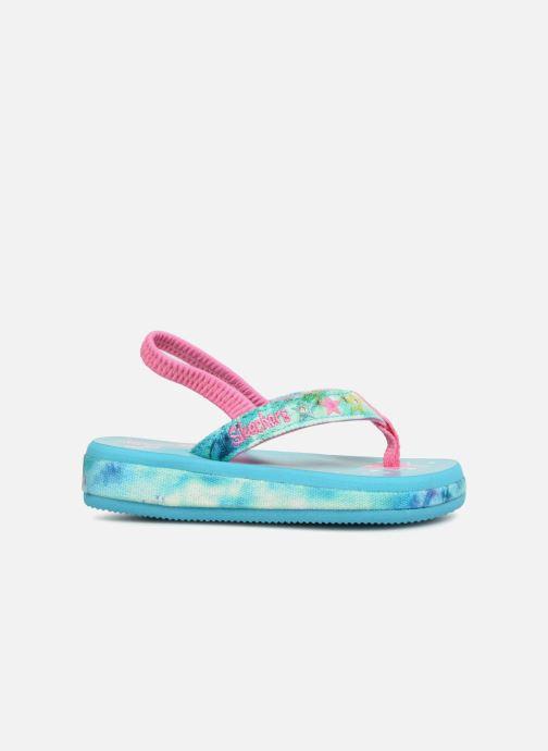 Sandales et nu-pieds Skechers Sunshines/ Hippie skippie Bleu vue derrière
