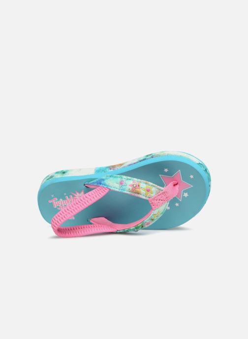 Sandales et nu-pieds Skechers Sunshines/ Hippie skippie Bleu vue gauche