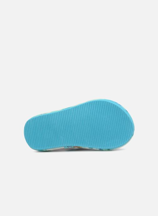 Sandales et nu-pieds Skechers Sunshines/ Hippie skippie Bleu vue haut