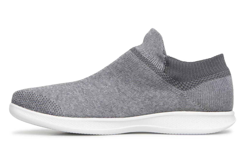 Sneakers Skechers Go step lite/ Ultrasock Grå bild från framsidan
