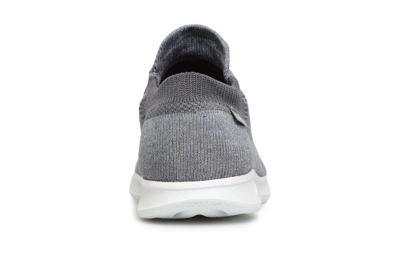 Sneakers Skechers Go step lite/ Ultrasock Grå Bild från höger sidan