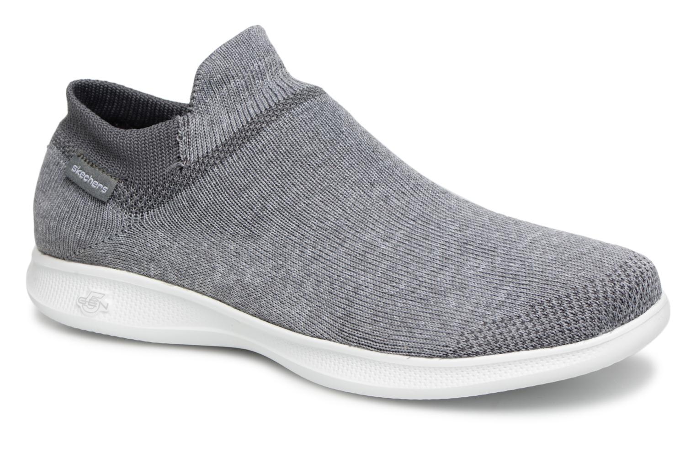 Sneakers Skechers Go step lite/ Ultrasock Grå detaljerad bild på paret