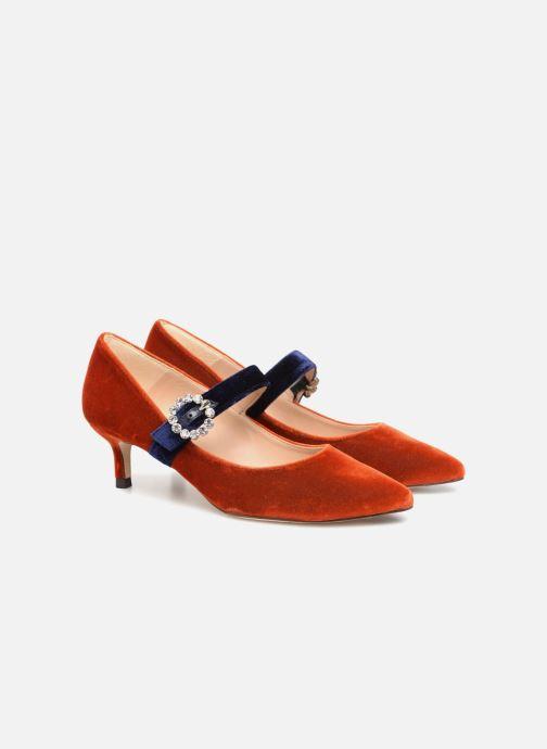 Zapatos de tacón L.K. Bennett Eira Naranja vista 3/4