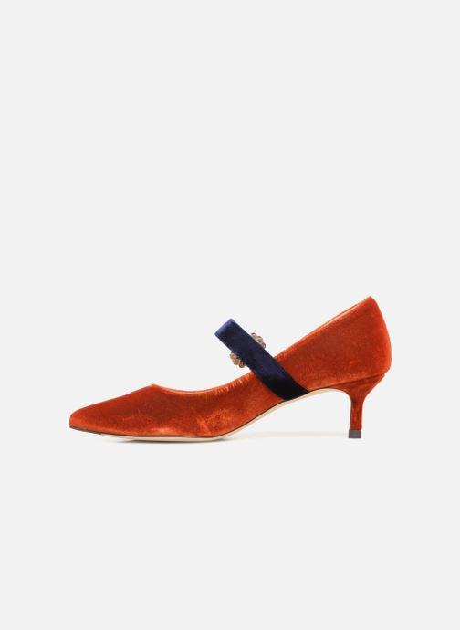 Zapatos de tacón L.K. Bennett Eira Naranja vista de frente