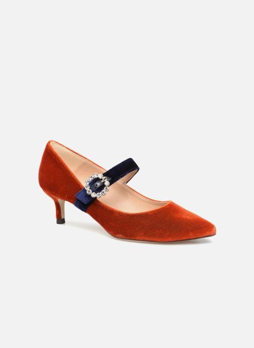 Escarpins L.K. Bennett Eira Orange vue détail/paire