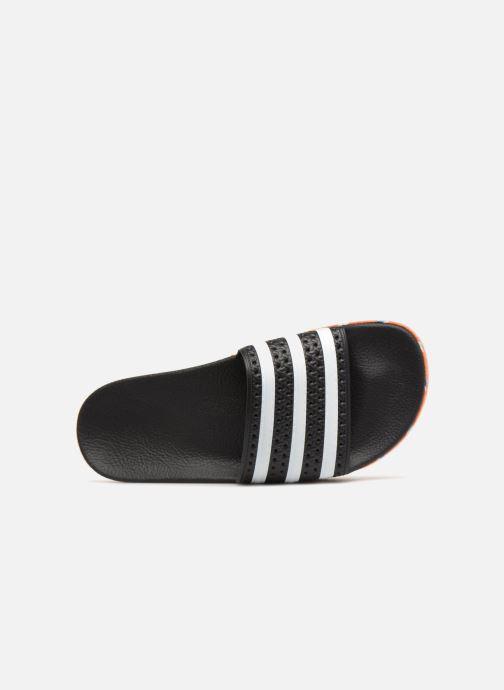 Zuecos adidas originals Adilette New Bold W Negro vista lateral izquierda