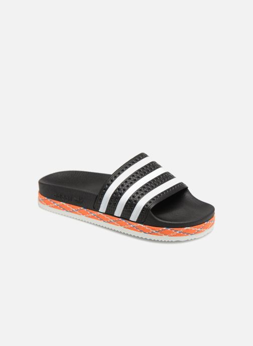 0dc995cac746 Mules   clogs Adidas Originals Adilette New Bold W Black detailed view   Pair view
