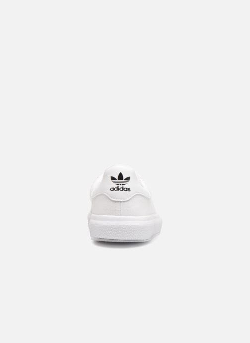 Sneakers adidas originals 3Mc Wit rechts