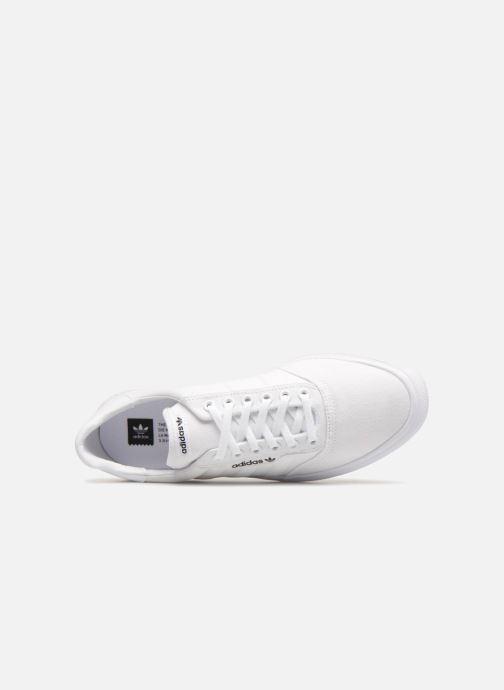 Baskets adidas originals 3Mc Blanc vue gauche