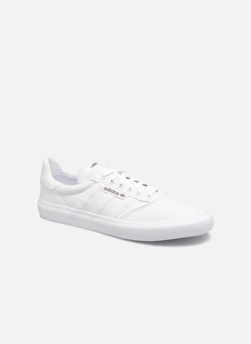 Baskets adidas originals 3Mc Blanc vue détail/paire