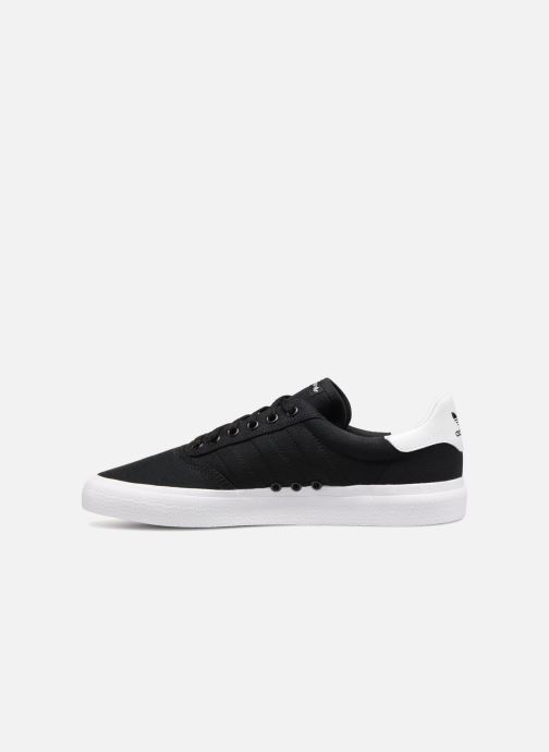 Baskets adidas originals 3Mc Noir vue face