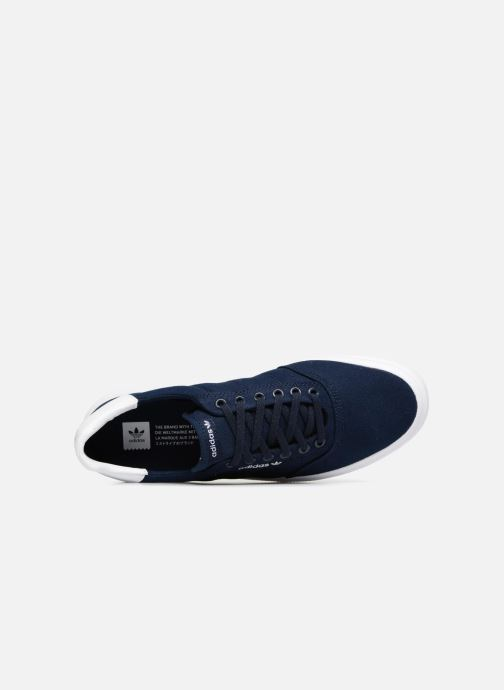 Trainers Adidas Originals 3Mc Blue view from the left