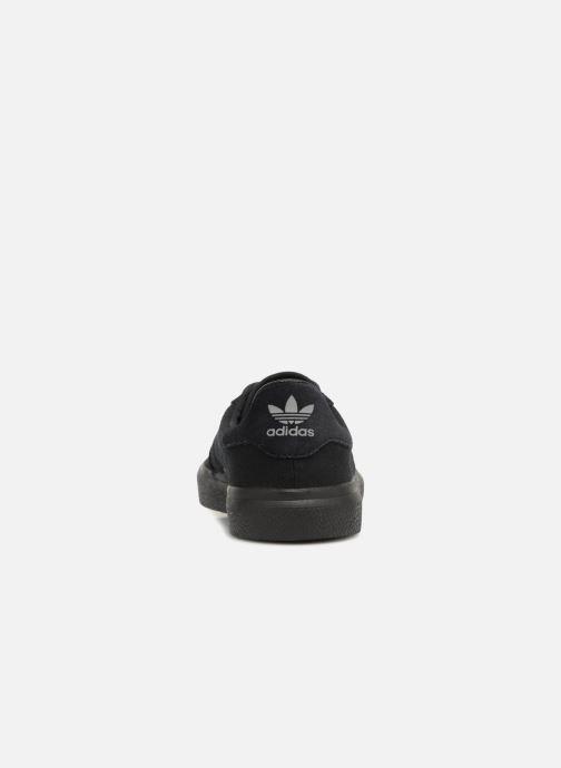Sneakers adidas originals 3Mc Zwart rechts
