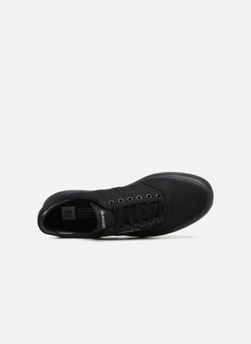 Baskets adidas originals 3Mc Noir vue gauche