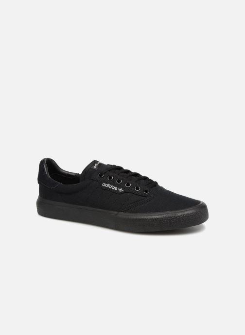 Sneakers adidas originals 3Mc Zwart detail