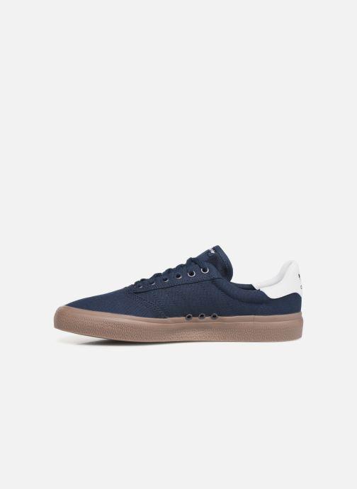 Baskets adidas originals 3Mc Bleu vue face