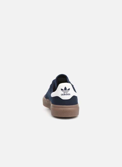 Baskets adidas originals 3Mc Bleu vue droite