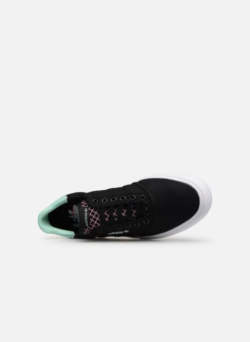 Trainers Adidas Originals 3Mc Black view from the left