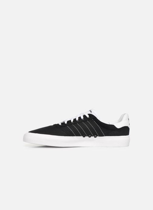 Sneakers adidas originals 3Mc Zwart voorkant