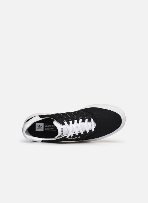 Sneakers adidas originals 3Mc Zwart links
